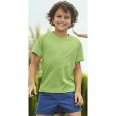 Lasten Tekninen T-paita painatuksella