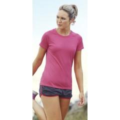 Naisten Tekninen T-paita painatuksella