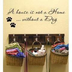 A House is not a home sisustustarra
