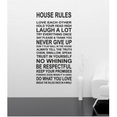 House rules sisustustarra