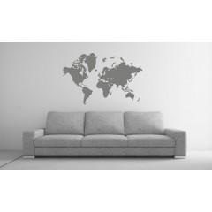 Maailmankartta 2 sisustustarra