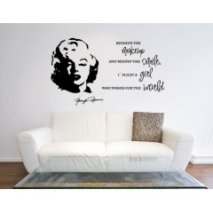 Marilyn Monroe sisustustarra
