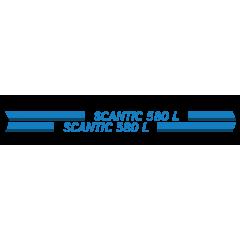 Scantic 580 L raidoilla venetarrat