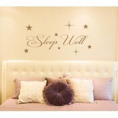 Sleep well sisustustarra