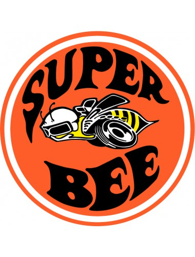 super bee väri tarra