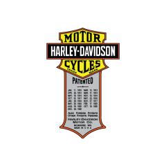 Harley-Davidson tarra  patented
